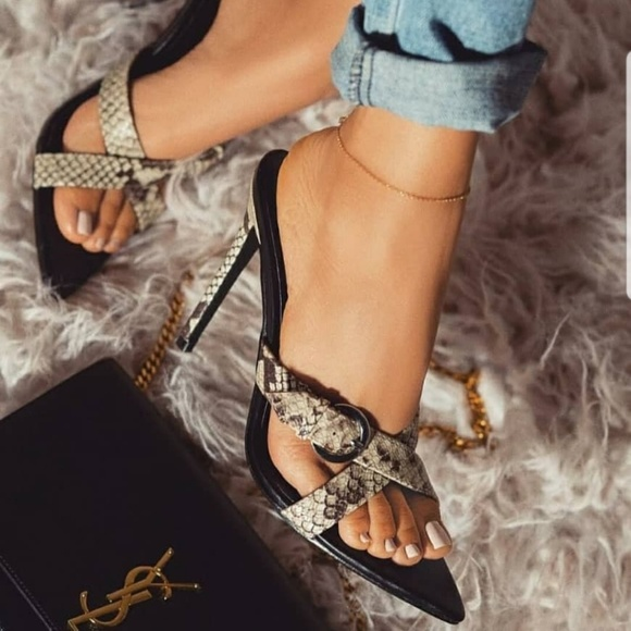 d1d3a848c Cape Robbin Shoes | Sale Ferocious Heel Highheel Snake | Poshmark